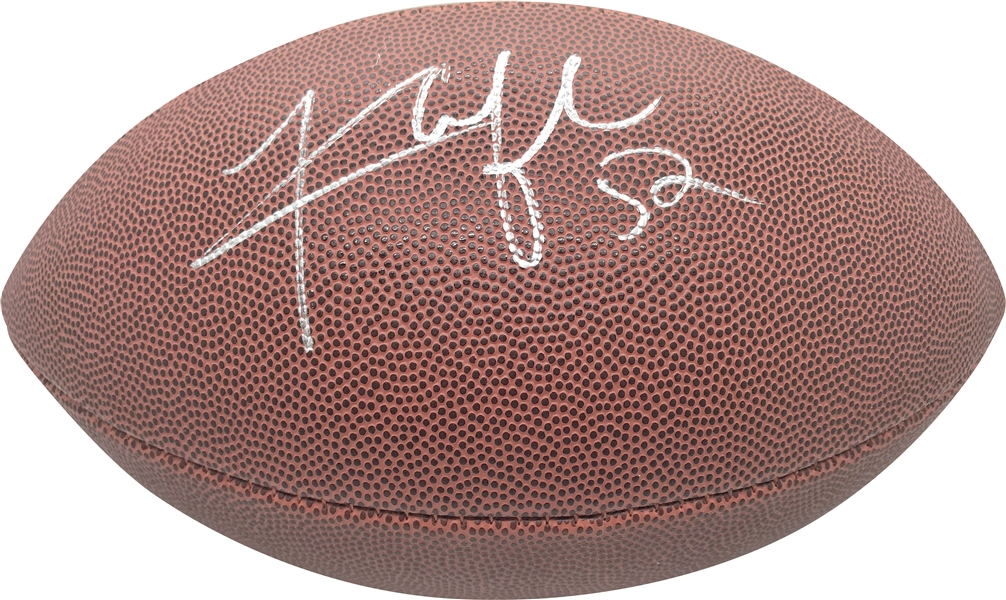 Khalil Mack Signed NFL Composite Football (PSA/DNA)