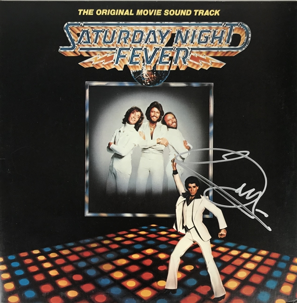 Barry Gibb Signed Saturday Night Fever Soundtrack (Beckett/BAS Guaranteed)