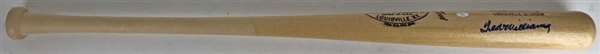 Ted Williams Near-Mint Signed Personal Model Baseball Bat (JSA)