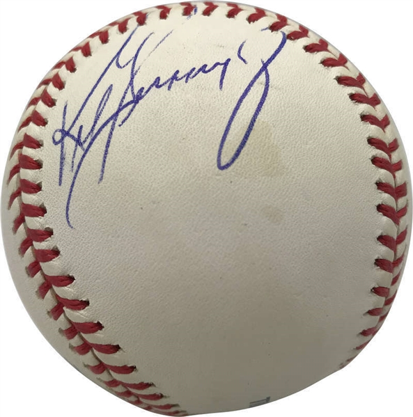 Ken Griffey Jr. Signed OML Baseball (Beckett/BAS)