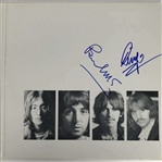 "The Beatles: Paul McCartney & Ringo Starr Rare Dual-Signed ""The White Album"" Album Cover (Beckett/BAS, Caiazzo & Cox)"