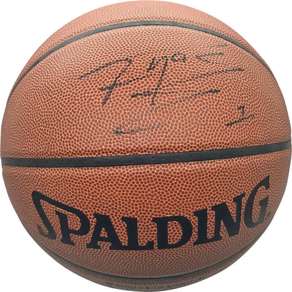 Tracy McGrady Signed Leather NBA Game Basketball (Beckett/BAS)