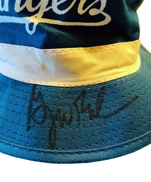 President George W. Bush Signed Texas Rangers Promotional Bucket Hat (PSA/DNA)