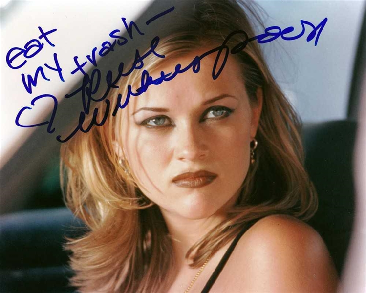 Reese Witherspoon In-Person Signed 8 x 10 Photograph from Freeway (Beckett/BAS)