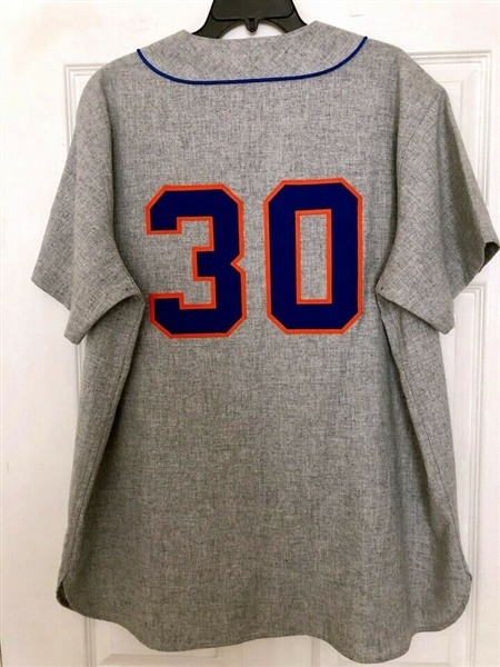 1969 Mets Team Signed Cooperstown Collection Jersey (Steiner Sports & TriStar)