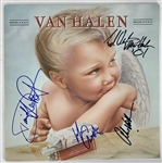 "Van Halen Group Signed ""1984"" Album w/ Alex, Eddie, Roth & Anthony! (PSA/DNA)"