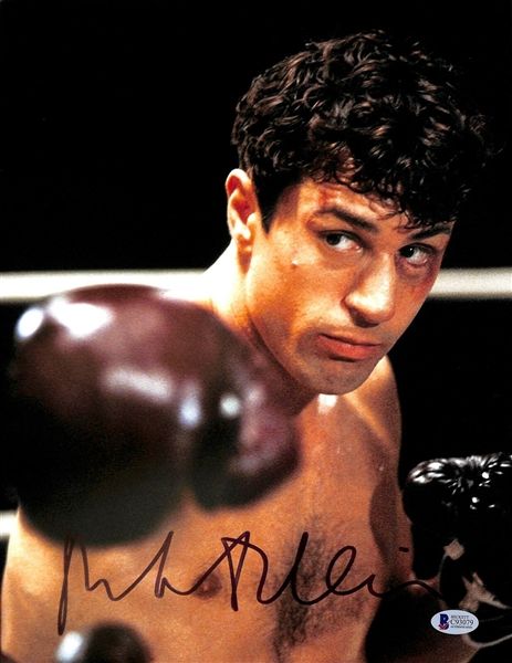 Robert DeNiro Signed 11 x 14 Photo from Raging Bull (Beckett/BAS)