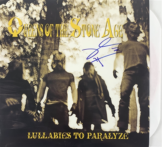 Queens of the Stone Age: Josh Homme Signed Lullabies to Paralyze Record Album (John Brennan Collection)(Beckett/BAS Guaranteed)