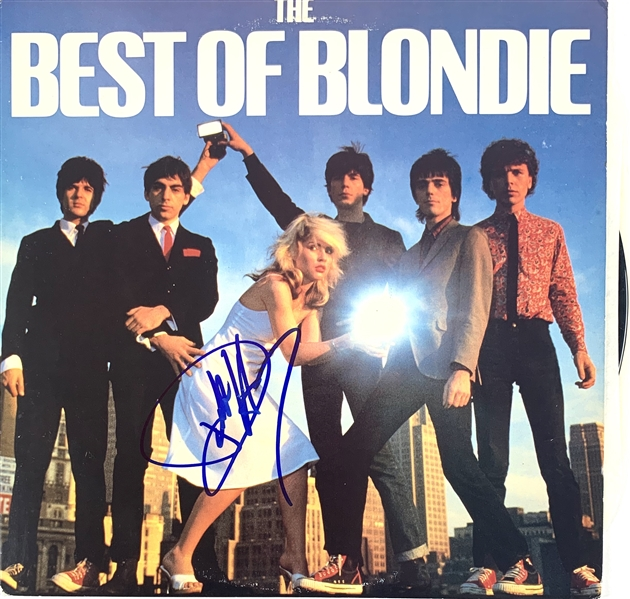 Blondie: Debbie Harry Signed Best Of Record Album (Beckett/BAS Guaranteed)