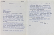 John F. Kennedy Incredible Typed & Hand-Signed 2-Page Senate Letter w/ Amazing Al Smith/Catholic Content! (BAS/Beckett)