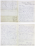 Ulysses S. Grant Rare TWICE Signed 4 Page Handwritten 1873 Letter w/ Content About Former Slave Land (Beckett/BAS)