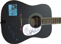 Fleetwood Mac Rare Group Signed Acoustic Guitar w/ Nicks! (JSA)