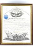 President Abraham Lincoln Signed 1862 Civil War General Appointment Document! (Beckett/BAS Guaranteed)