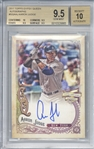Aaron Judge Signed 2017 Topps Gypsy Queen Rookie Card Beckett/BGS 9.5 w/ 10 Auto!