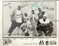 "D-12 Group Signed 8"" x 10"" Photograph w/ Slim Shady! (Beckett/BAS)"