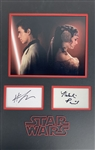 "Natalie Portman & Hayden Christensen Signed 13"" x 19"" Matted Display (Beckett/BAS)"