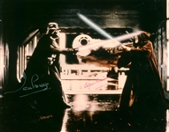 "Alec Guinness and Dave Prowse Signed 8"" x 10"" Photograph (Beckett/BAS Guaranteed)"