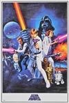 "James Earl Jones Signed 24"" x 36"" Star Wars Poster (Beckett/BAS)"