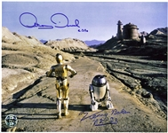 "Star Wars: Kenny Baker & Anthony Daniels Signed 11"" x 14"" Photograph (PSA/DNA)"