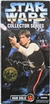 Harrison Ford Signed Star Wars Collector Series Han Solo Action Figure (Beckett/BAS)