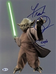 "Star Wars: Frank Oz Signed 11"" x 14"" Color Photo w/ Rare ""Yoda"" Inscription (Beckett/BAS)"