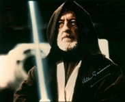 "Alec Guinness Near-Mint Signed 8"" x 10"" Color Photograph w/ Rare Silver Autograph! (Beckett/BAS)"