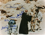 "Episode IV – A New Hope Multi-Signed 8"" x 10"" Photograph w/ Guinness, Hamill, Baker & Daniels (Beckett/BAS Guaranteed)"