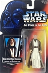 "Sir Alec Guinness Signed 1995 ""Star Wars: The Power of the Force"" Action Figure :: One of a Few Known to Exist! (NIB)(Beckett/BAS Guaranteed)(Steve Grad Collection)"