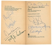 "Star Wars Vintage Cast Signed ""The Empire Strikes Back"" Book w/ 9 Signatures! (Beckett/BAS)"