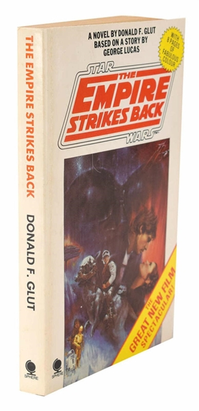 Star Wars Vintage Cast Signed The Empire Strikes Back Book w/ 9 Signatures! (Beckett/BAS)