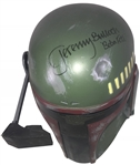 Star Wars: Jeremy Bulloch Signed Full Size Don Post Boba Fett Helmet (Beckett/BAS)