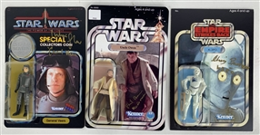 Lot of Seven (7) Signed Star Wars Replica Figurines w/ Brown, Glover, Parsons & More! (Beckett/BAS Guaranteed)