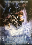 "The Empire Strikes Back Impressive 27"" x 41"" Style ""A"" Full Sized Signed Movie Poster with 20 Signatures (Beckett/BAS Guaranteed)"