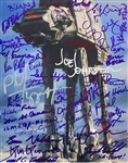 "The Imperial Walker: 8"" x 10"" Color Photo Signed by an Amazing Forty-One (41) ILM Crew Members Who Created It! (Beckett/BAS Guaranteed)(Steve Grad Collection)"