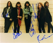 "The Black Crowes Group Signed 8"" x 10"" Color Photo (John Brennan Collection)(Beckett/BAS Guaranteed)"