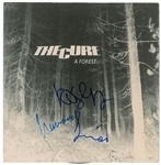 "The Cure Desirable Group Signed ""A Forest"" 45 RPM Record (John Brennan Collection)(Beckett/BAS Guaranteed)"
