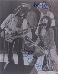 "Aerosmith: Steven Tyler, Joe Perry & Brad Whitford Signed 11"" x 14"" Photo (John Brennan Collection)(Beckett/BAS Guaranteed)"