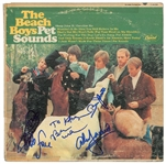 "The Beach Boys Group Signed ""Pet Sounds"" Record Album (John Brennan Collection)(Beckett/BAS Guaranteed)"