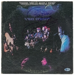 "CSNY Signed ""Four Way Street"" Record Album with Neil Young, Stills & Nash (John Brennan Collection)(Beckett/BAS)"
