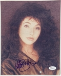 "Kate Bush Signed 8"" x 10"" Color Photo (John Brennan Collection)(JSA LOA)"
