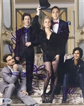 "The Big Bang Theory Cast Signed 8"" x 10"" Color Photo with Cuoco, Galecki, etc. (JSA LOA)"