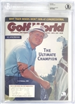 Jack Nicklaus Signed June 1997 Golf World Magazine (Beckett/BAS Encapsulated)