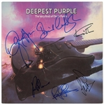 "Deep Purple Group Signed ""Deepest Purple"" Record Album Cover (John Brennan Collection)(Beckett/BAS Guaranteed)"