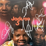"The Jackson 5 Group Signed ""Third Album"" Record Album Cover (John Brennan Collection)(Beckett/BAS Guaranteed)"