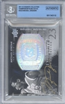 Michael Jordan Signed 2011-12 Exquisite Collection Championship Bling /99 Trading Card (BGS 10 Auto!)