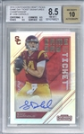 The Ultimate Darnold Rookie: Sam Darnold Signed 2018 Contenders Draft Picks Championship Ticket (1 of 1) (BGS 8.5 10)