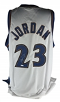 "Michael Jordan Signed Washington Wizard Jersey w/ Rare ""Pen Cam"" Video Signature Technology! (Upper Deck)"