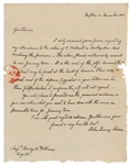 President John Quincy Adams Near-Mint Signed & Handwritten 1802 Letter w/ Rare Full-Name Autograph (Beckett/BAS Guaranteed)