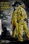 "Breaking Bad Cast Signed 36"" x 24"" Promotional TV Poster (Beckett/BAS Guaranteed)"