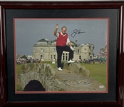 "Jack Nicklaus Signed 16"" x 20"" Color Canvas Print (JSA)"